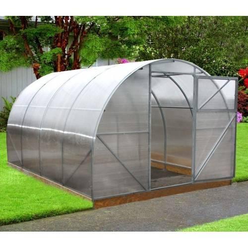 Arkinis polikarbonatinis surenkamas šiltnamis (Premium) 3x8