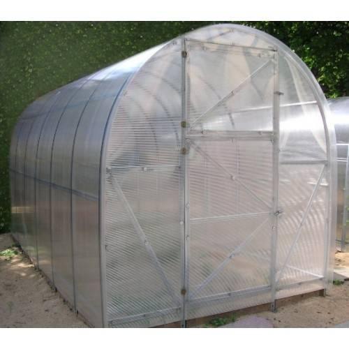 Arkinis polikarbonatinis surenkamas šiltnamis EKO 2X8