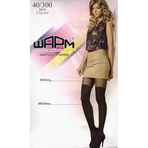 "40/300 denų pėdkelnės ""WAPM"""