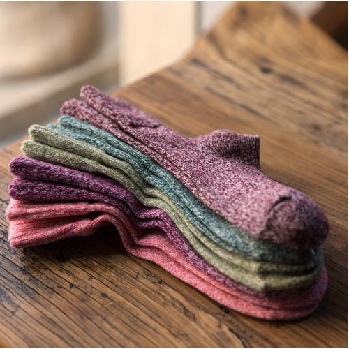 Termo kojinių kompektas su angoros vilna moterims (4 poros)