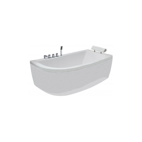 Akrilinė vonia B1680 dešininė 160cm simple 1600x800x620