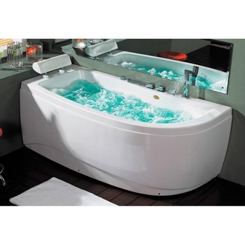 Masažine vonia B1510 kairine su oro,hidromasažu ir vandens kaitintuvu 1600x800x620