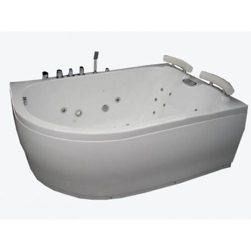 Masažine vonia B201-1dešinine su oro ir hidromasažu 1790x1290x700