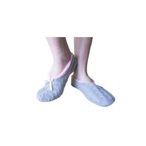 Moteriškos kojinės-šlepetės