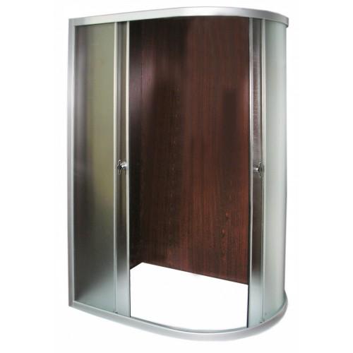 Dušo kabinos R8050 kairines stiklas